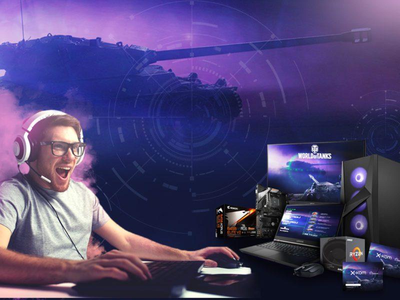 Festiwal Gamingu w x-kom trwa. Zamów sprzęt taniej nawet o 40% i odbierz kod bonusowy do World of Tanks