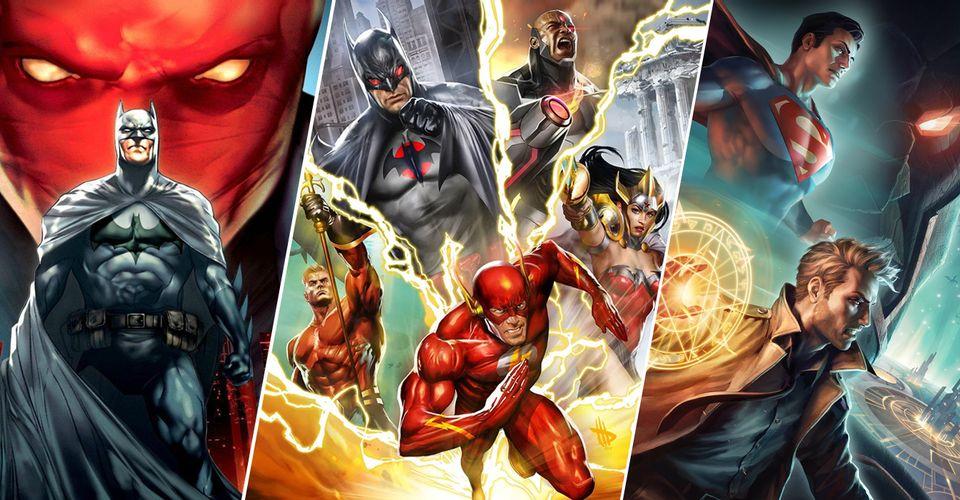 filmy DC animowane