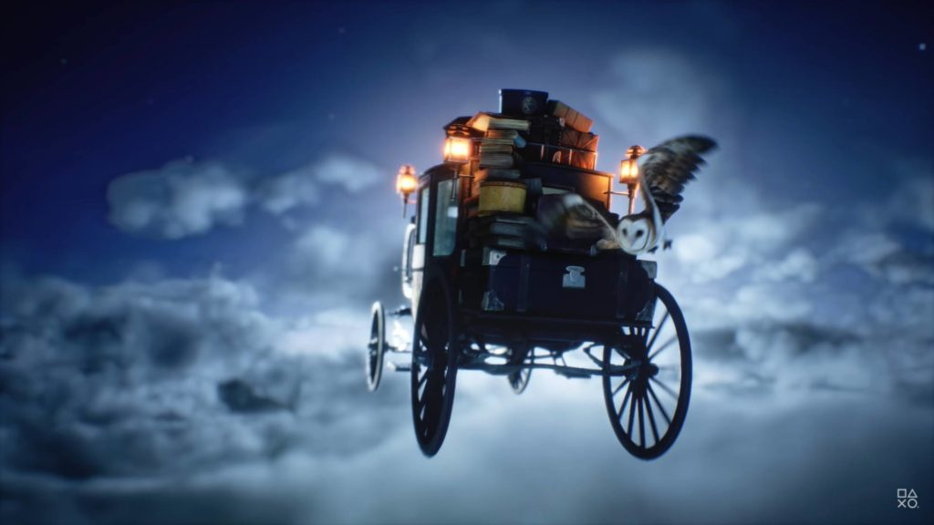 Hogwarts Legacy screen z trailera