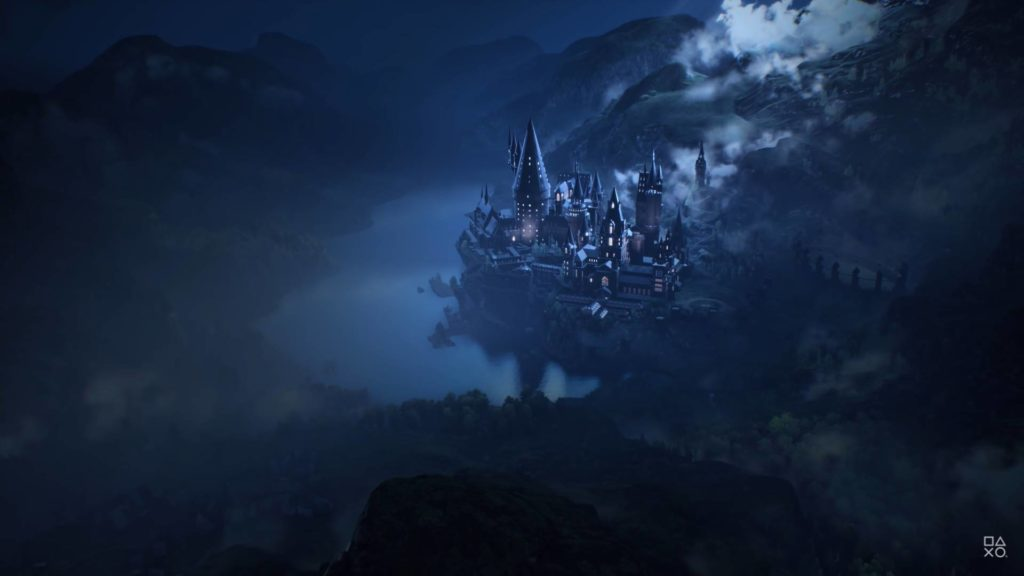 Hogwarts Legacy zamek