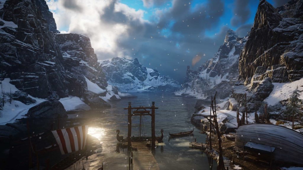 assassin's creed valhalla na monitorze ultrapanoramicznym huawei mateview gt