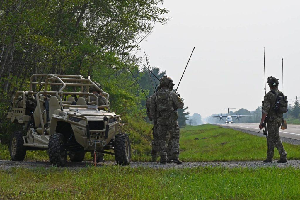 lądowanie na drodze siły specjalne