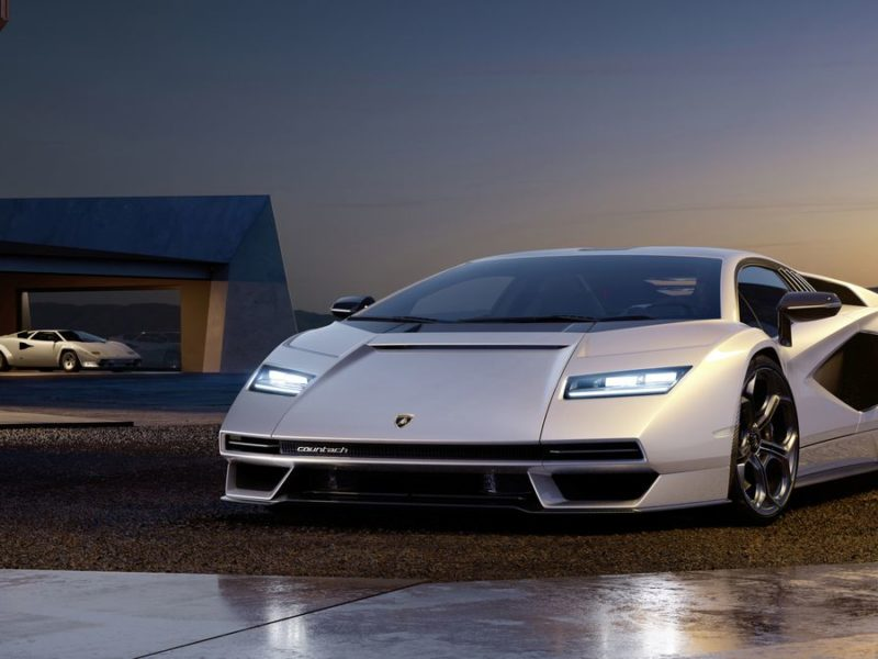 Lamborghini Countach powraca po latach jako hybrydowy supersamochód