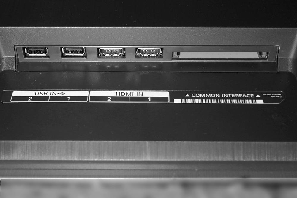 złącza telewizora LG OLED48A1