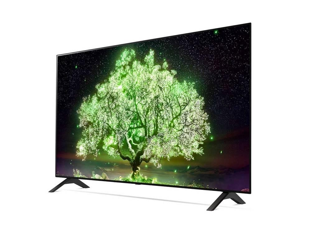 wygląd telewizora lg oled48a1
