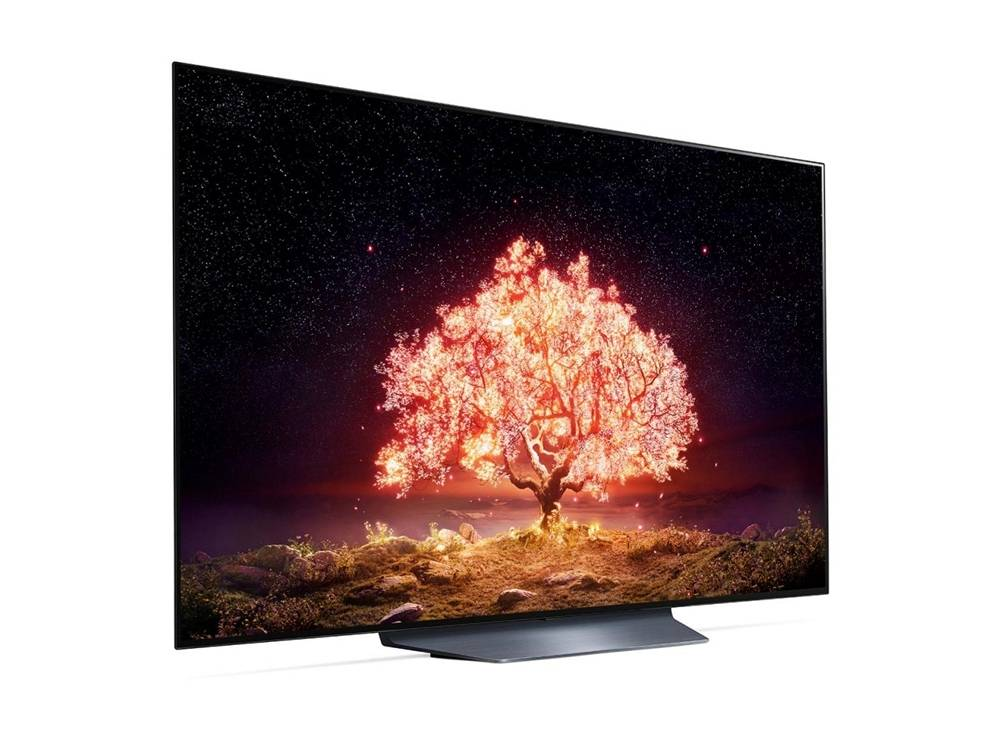 wygląd telewizora lg oled55b1