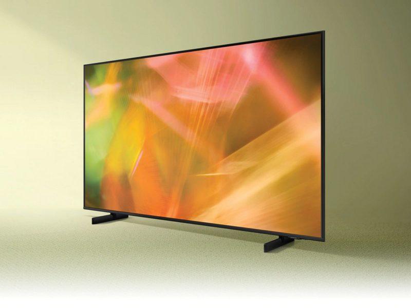 Cienki Sam. Test i recenzja telewizora Samsung 43AU8002