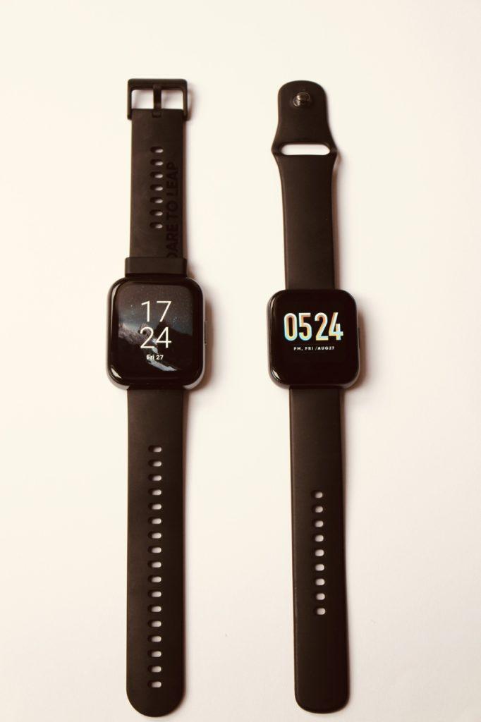 porównanie realme Watch 2 i realme Watch 2 pro