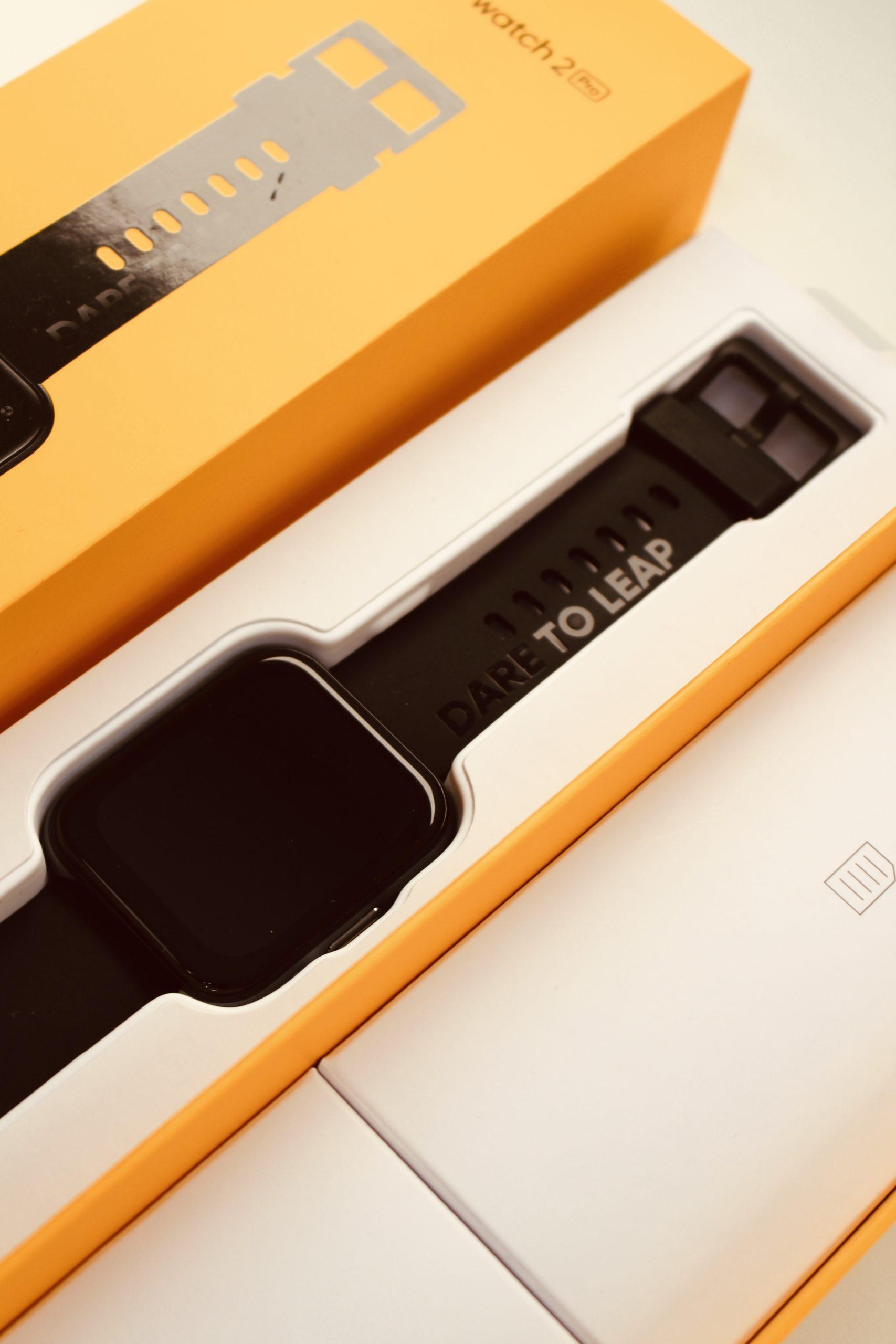 realme Watch 2 Pro wygląd i pudełko