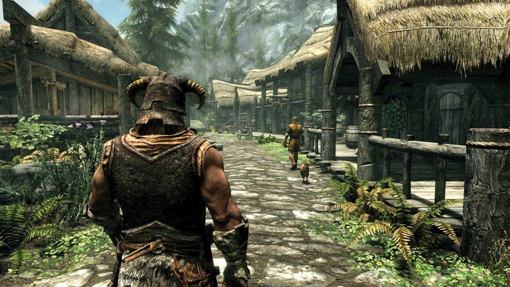 wioska rzeczna puszcza w the elder scrolls v skyrim special edition