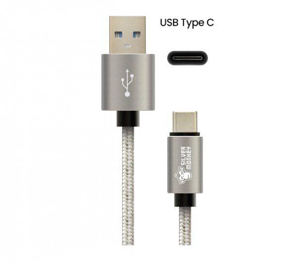 Silver Monkey USB C
