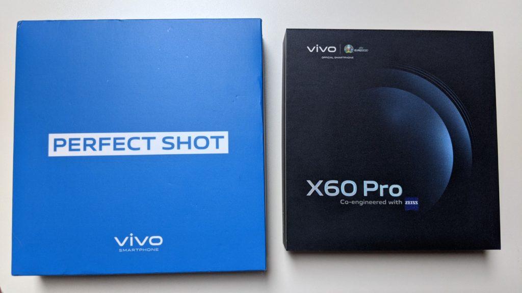 opakowanie smartfona vivo x60 pro 5g