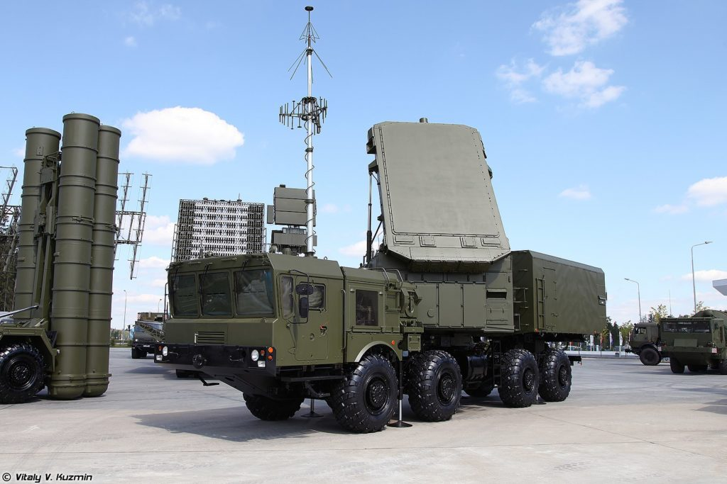 92N6A radar system S-400