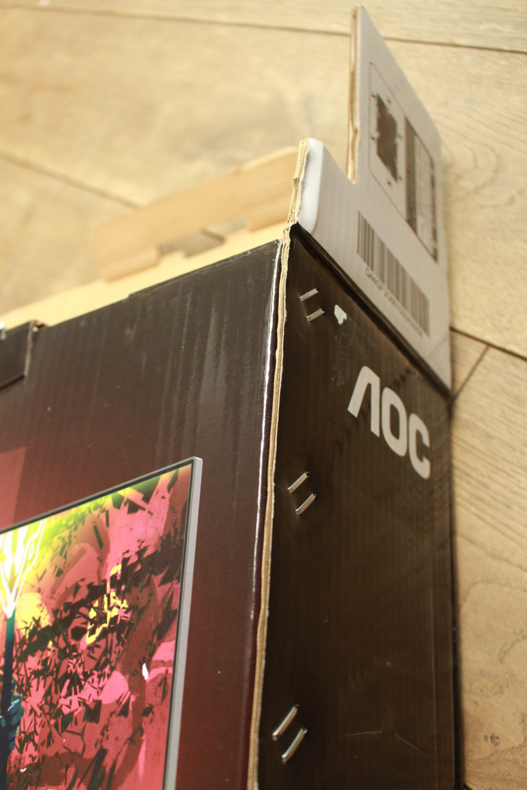 AOC U28G2XUBK pudełko
