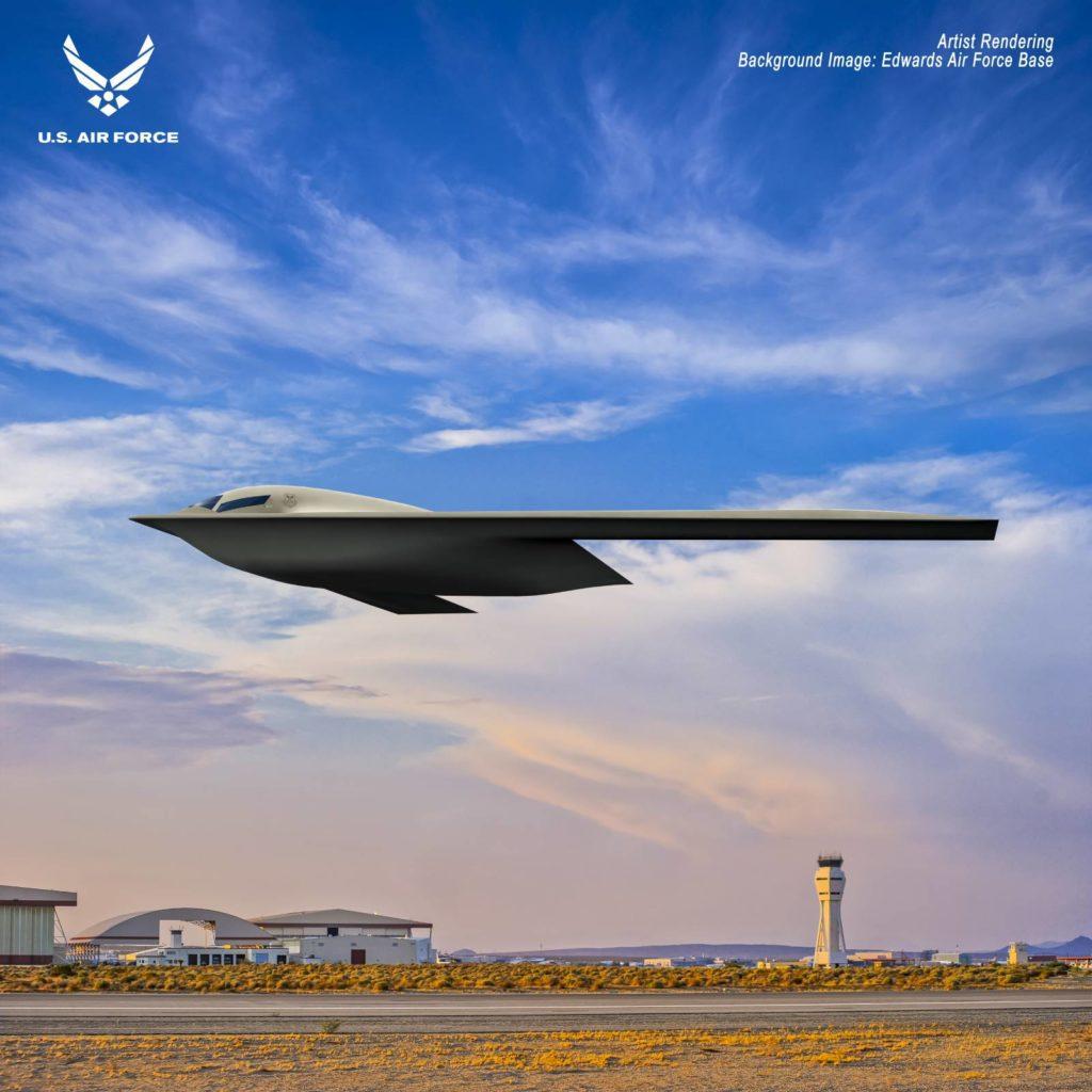 B-21 wizualizacja