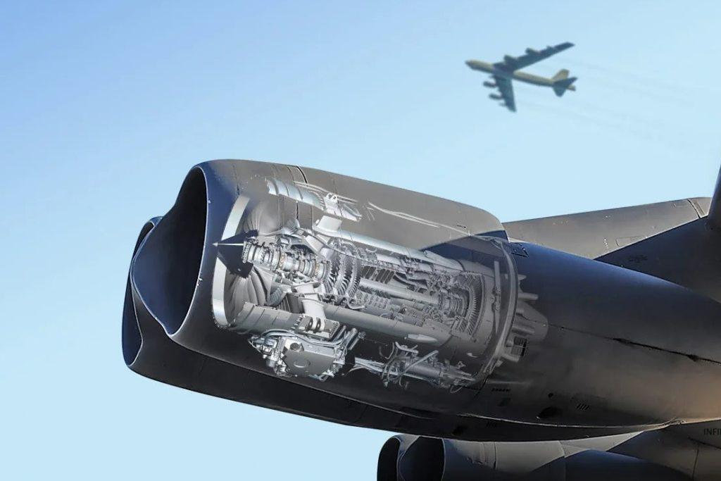 B-52H nowe silniki Rolls-Royce