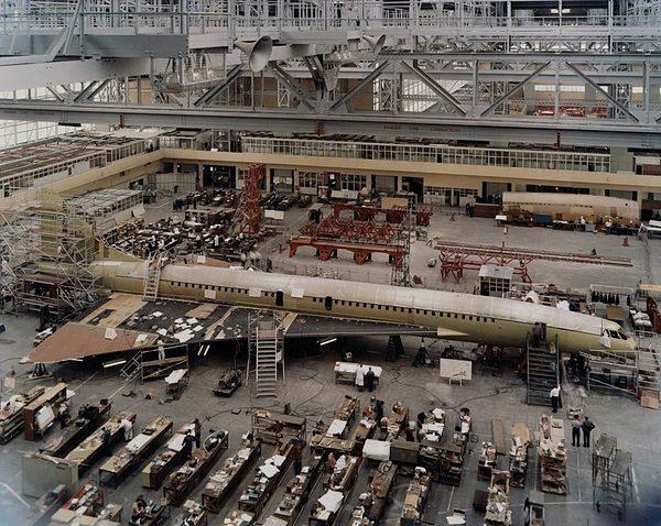 Concorde linia produkcyjna