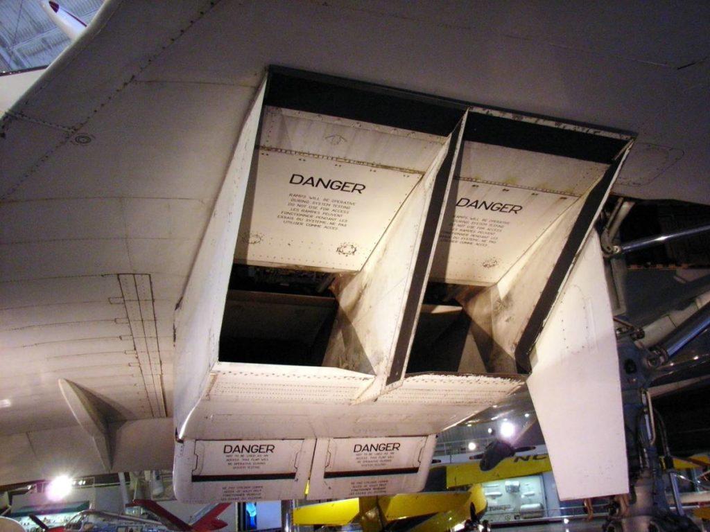 Concorde wloty silników