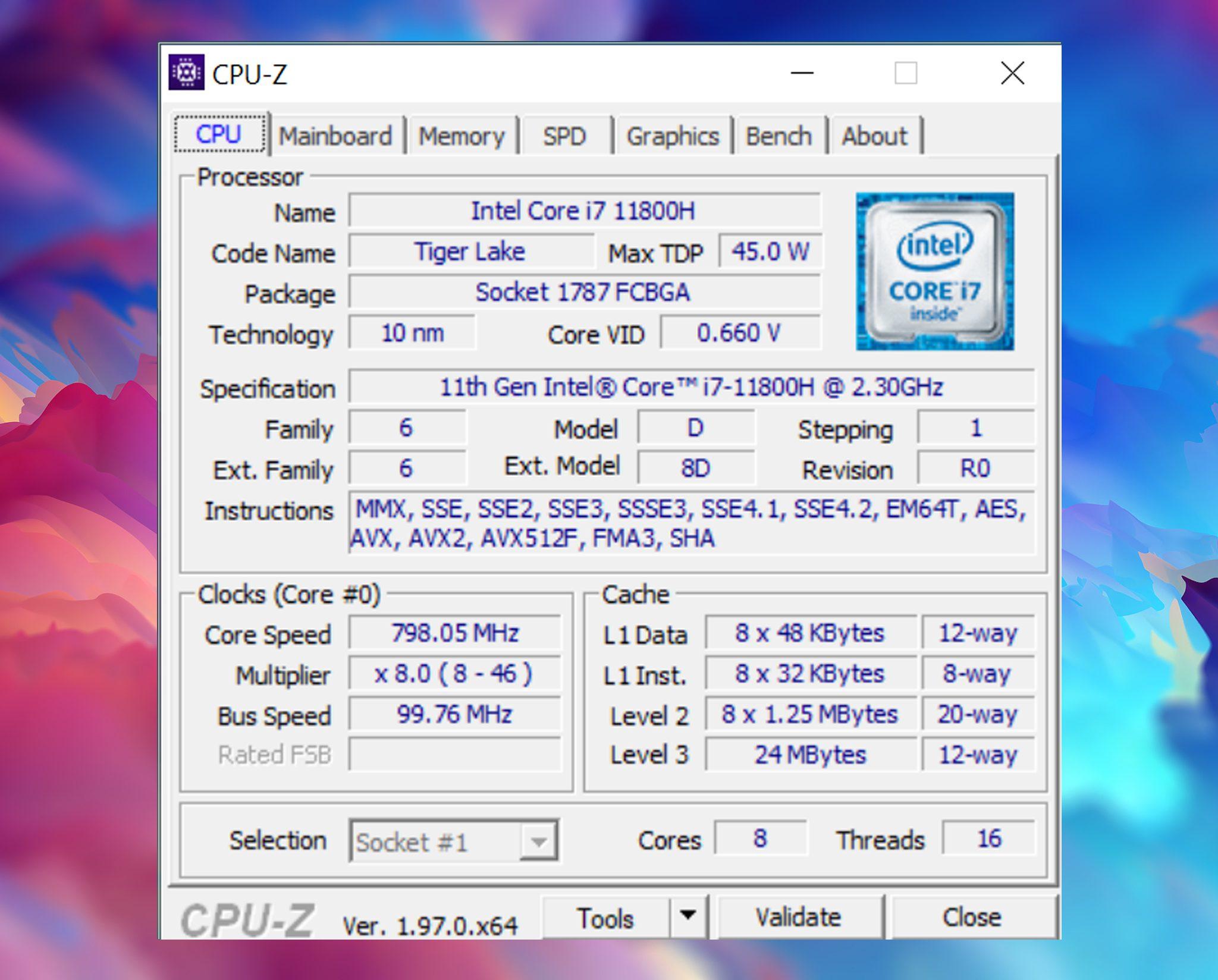 Cpu-z RAM msi creator