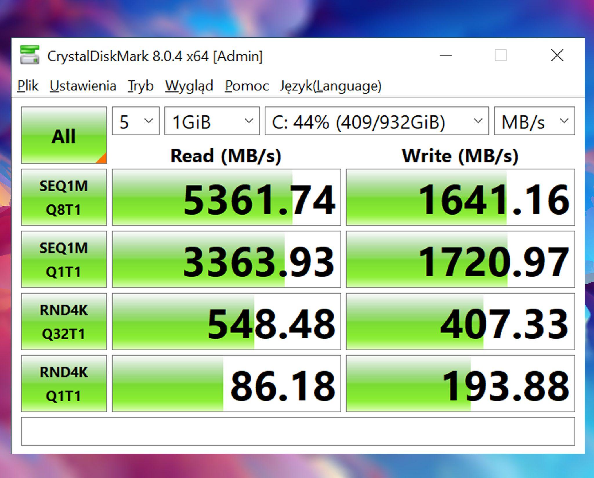 Cpu-z SSD msi creator