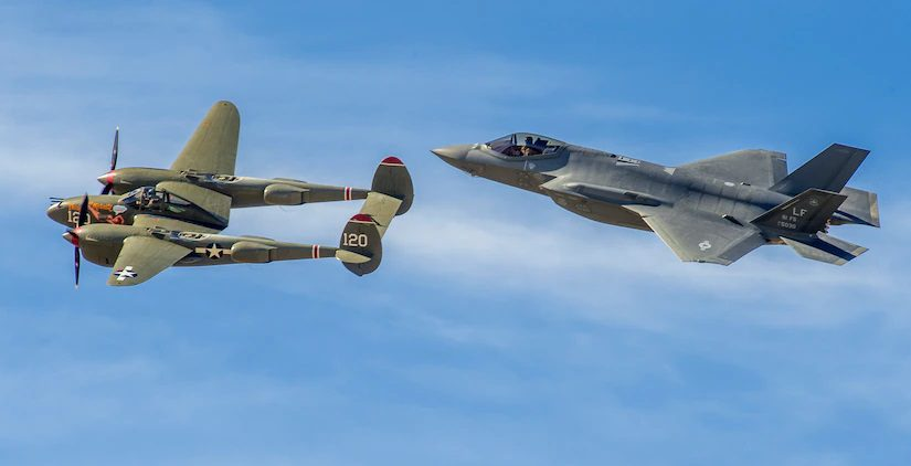 F-35 Lightning II P-38 Lightning