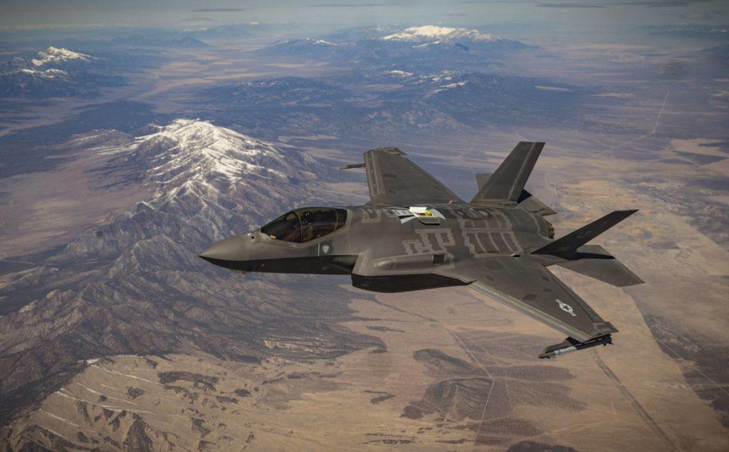 F-35 tankowanie