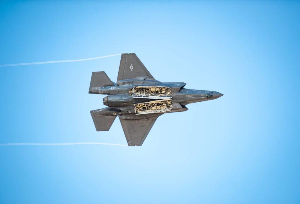 F-35A wewnętrzne komory uzbrojenia