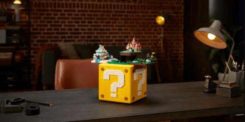 Super Mario 64 ? Block od LEGO. Cena, dostępność i skład zestawu