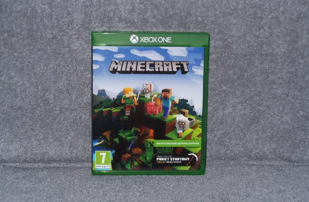 Minecraft pudełko gra