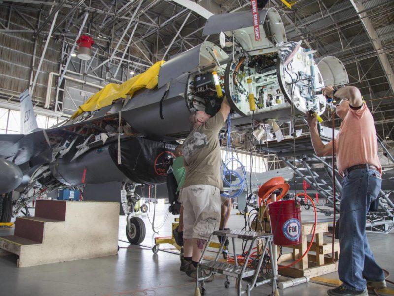 Norhtrop Grumman testuje nowy pakiet. Ciekawa opcja dla polskich F-16?