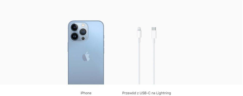 Zawartość zestawu iPhone 13