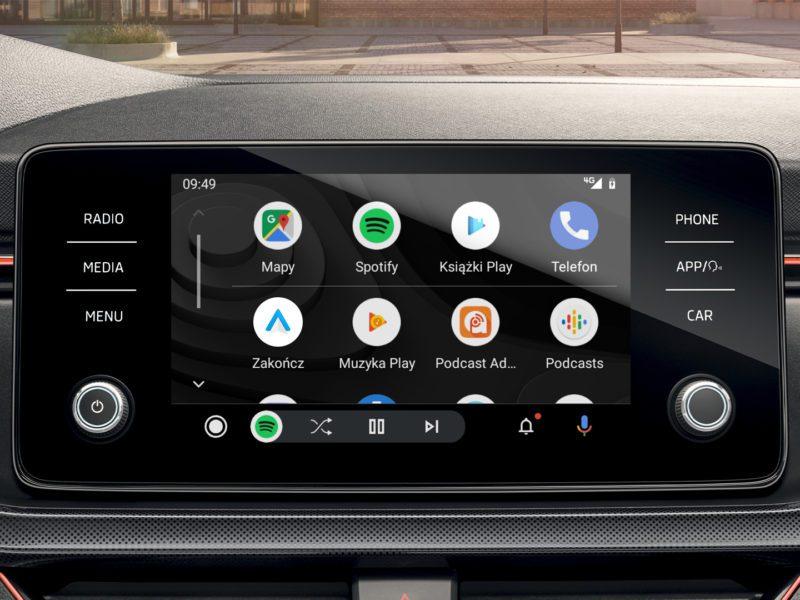 Yanosik i AutoMapa oficjalnie w Android Auto