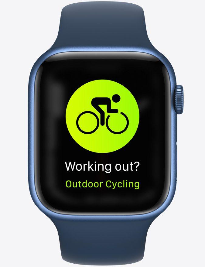 apple watch 7 fitness