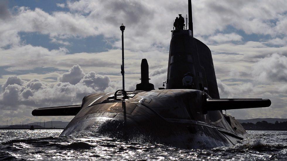 atomowy okręt podwodny klasy astute
