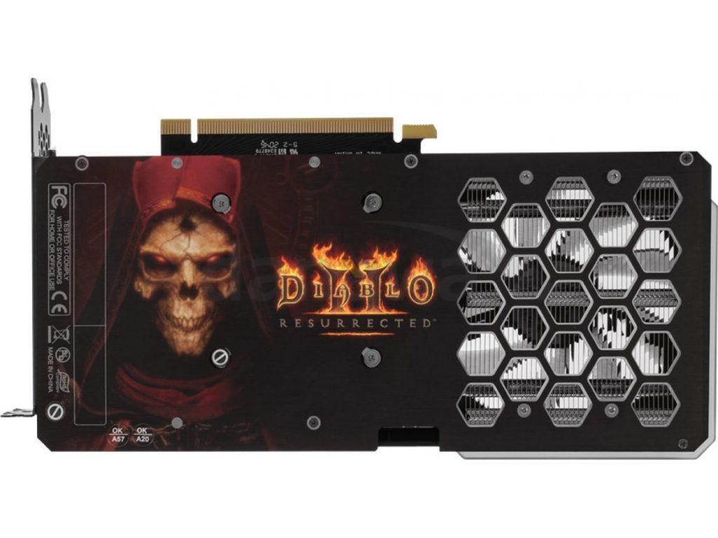 backplate rtx 3060 diablo 2 resurrected edition