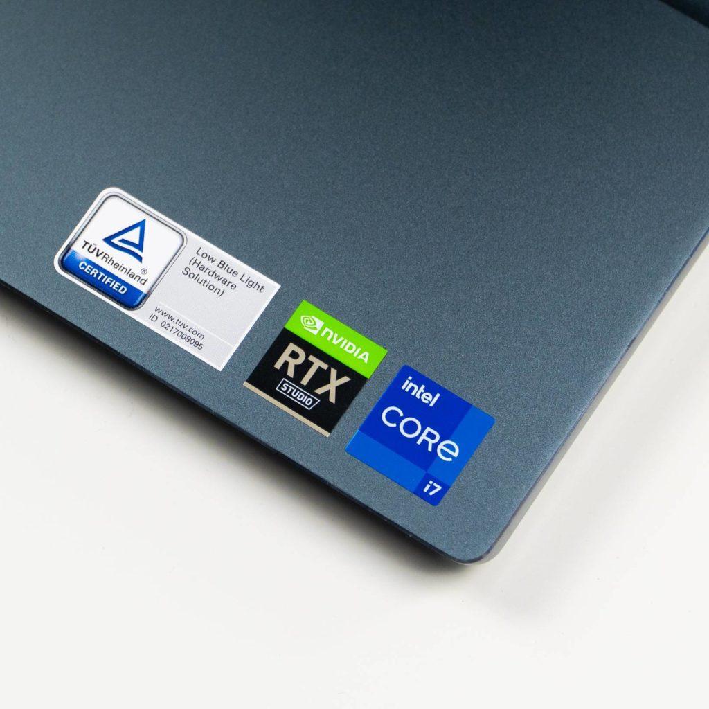 Naklejki informacyjne Dell 16 Plus 7610