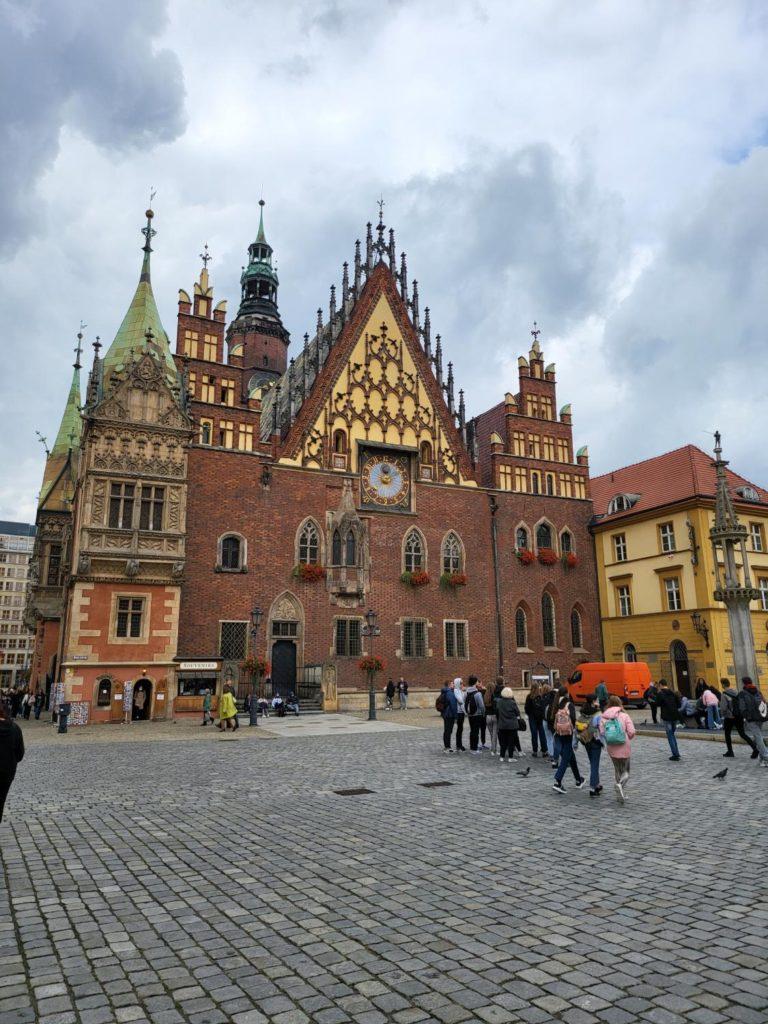 Galaxy Z Fold 3 główny ratusz Wrocław