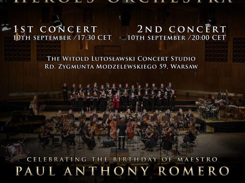 [Ogłoszenie wyników] Wygraj bilety na koncert Heroes Orchestra. Mamy cztery podwójne wejściówki