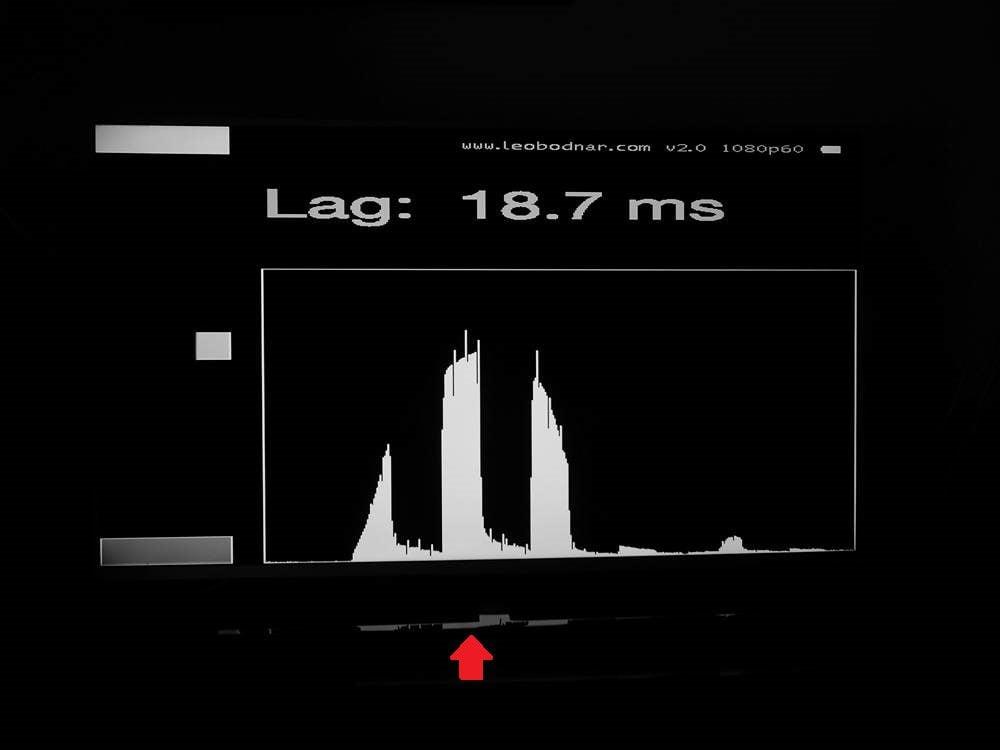 input lag telewizora philips 50pus8555