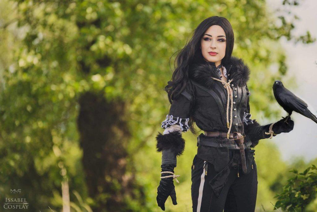 yennefer z wiedźmina 3 cosplay issabel cosplay