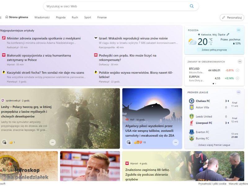 Microsoft Start – serwis z wiadomościami w nowej formie