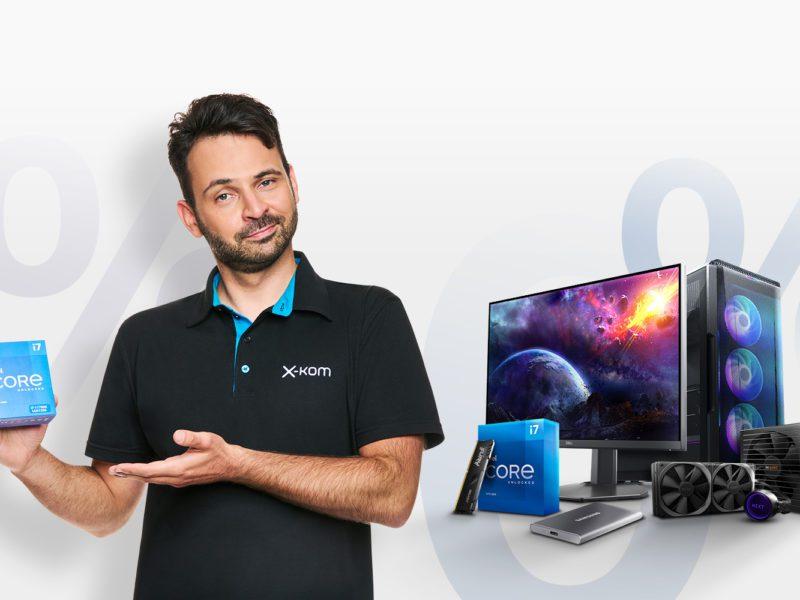 Potrzebujesz nowego monitora lub wydajniejszych komponentów? Zamów wymarzone produkty już dziś i skorzystaj z 20 rat 0%