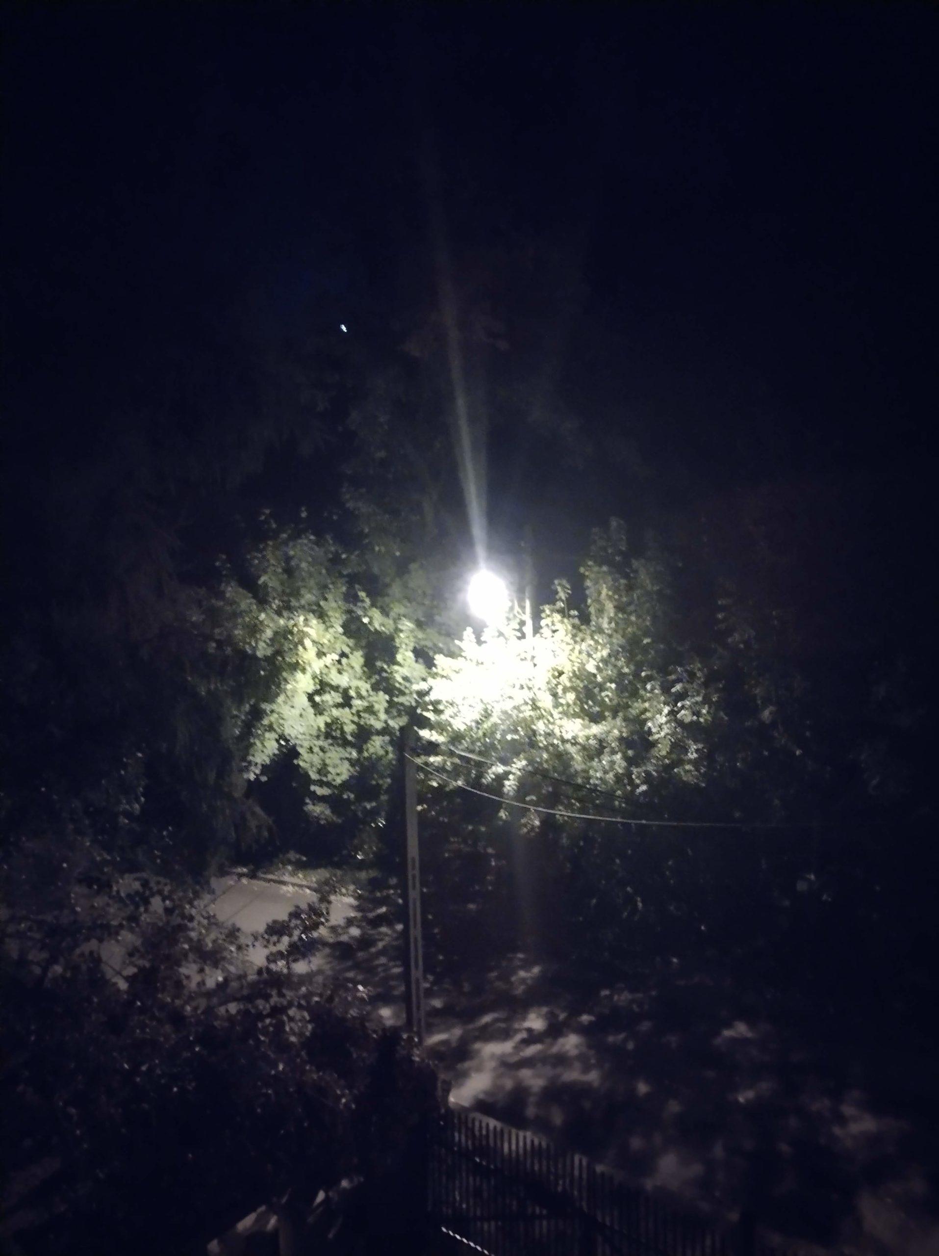 Moto G50 nocne bez trybu
