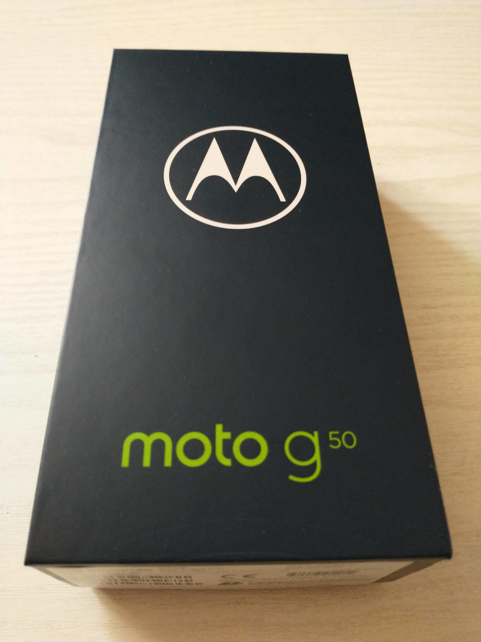 Moto G50 pudełko front