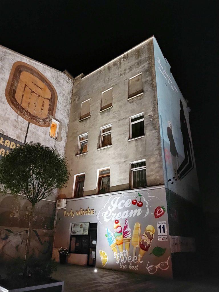 Motorola Edge 20 Pro nocny murale