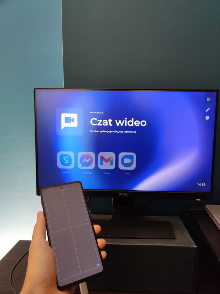 Motorola Edge 20 Pro Ready For czat wideo