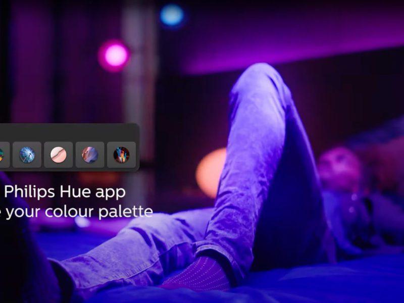 Głębsza integracja Philips Hue i Spotify, czyli świeć mi do rapsów