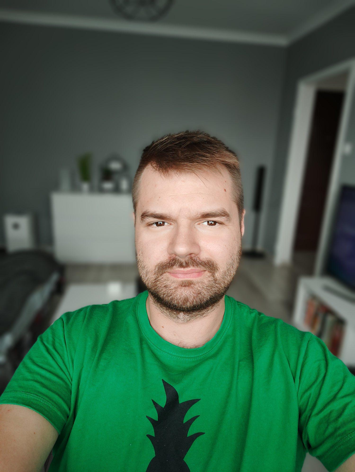 realme gt me selfie portret