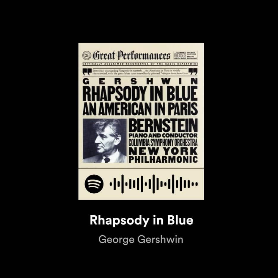 George Gershwin Rhapsody in Blue Nokia Noise Cancelling Earbuds BH-805