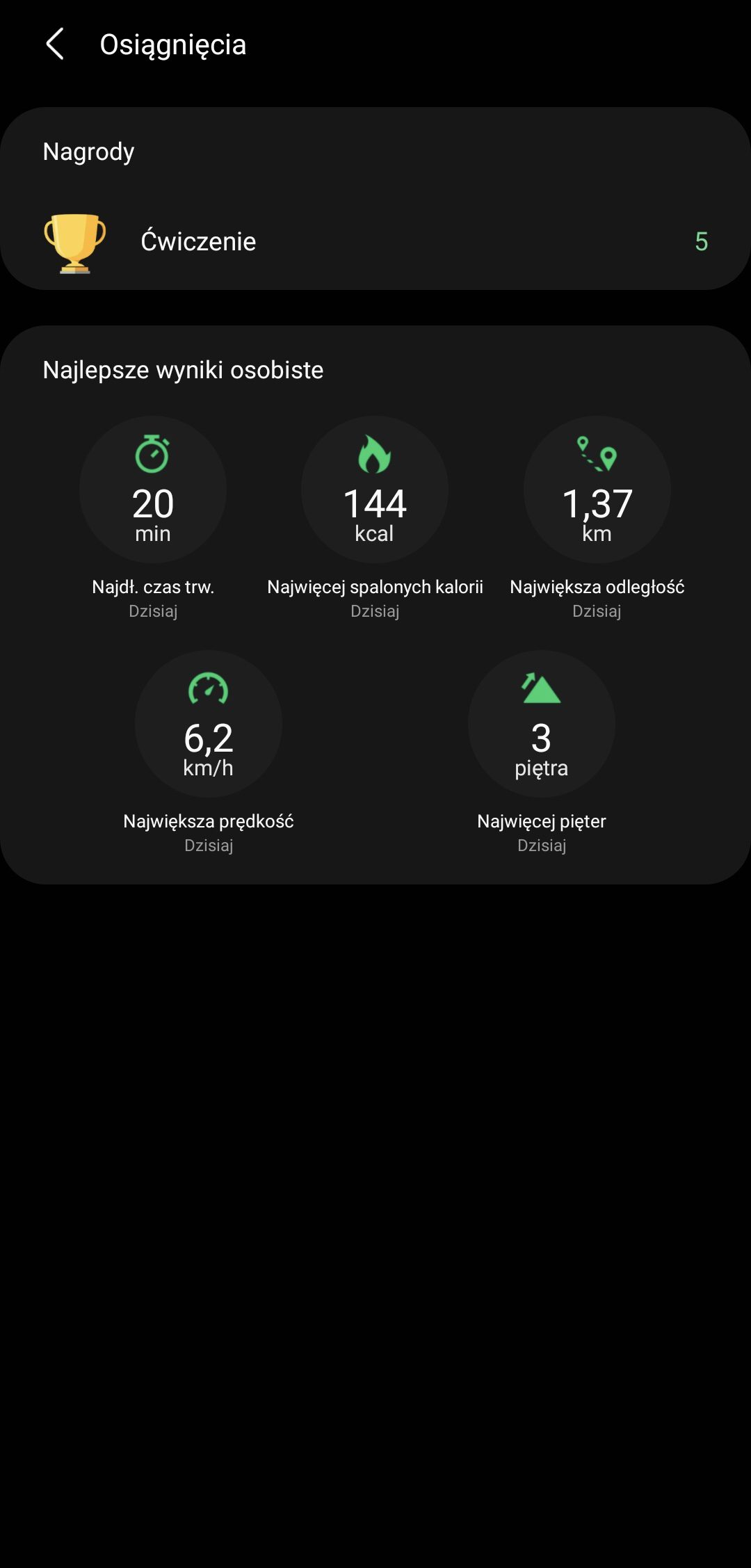 Galaxy Watch 4 aplikacja samsung healthustawienia